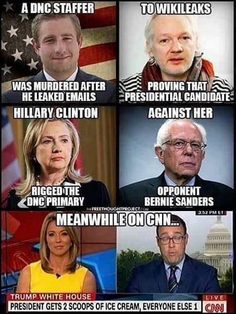 dnc-staffer-murdered-wikileaks-rigged-clinton-over-bernie-sanders-meanwhile-on-cnn