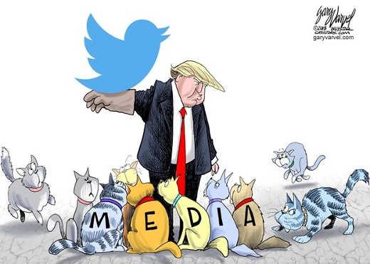 donald-trump-tweet-arm-cats-mainstream-media-cnn-msnbc-nyt-cbs
