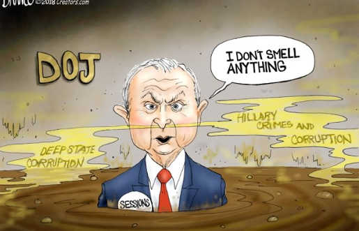 jeff-sessions-doj-i-dont-smell-anything-hillary-deep-state-crimes-corruption