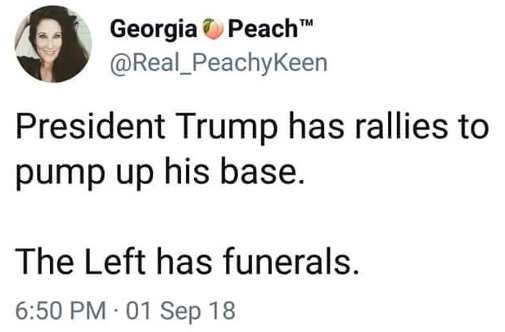president-trump-has-rallies-to-pump-up-base-left-has-funerals-tweet