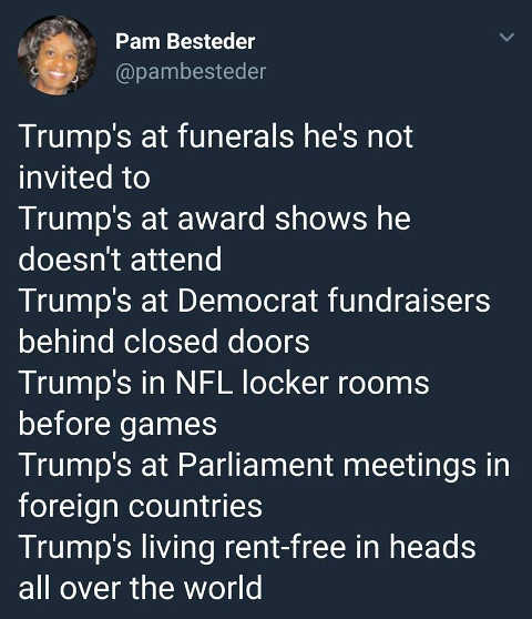 trumps-at-funerals-not-invited-to-nfl-locker-rooms-democrat-fundraisers-parliament-awards-shows