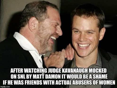 after-watching-matt-damon-mock-kavanaugh-be-a-shame-with-sex-offender-harney-weinstein