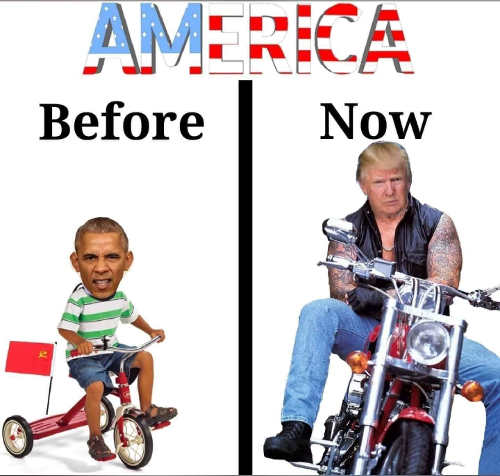 america-before-now-obama-trump-tricycle-motorcycle
