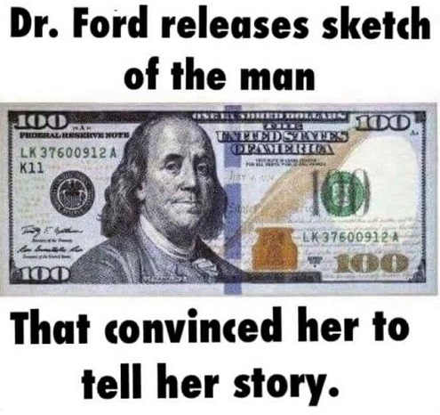 christine-ford-releases-sketch-of-man-convinced-her-to-tell-her-story-100-dollar-bill