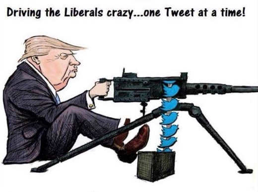 driving-liberals-crazy-one-tweet-at-time-twitter-trump-machine-gun