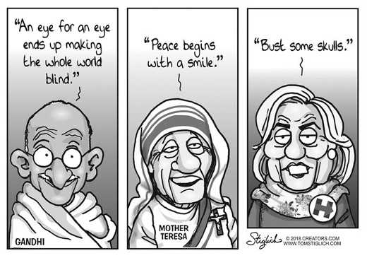 gandhi-mother-theresa-hillary-clinton-comparison-bash-some-skulls