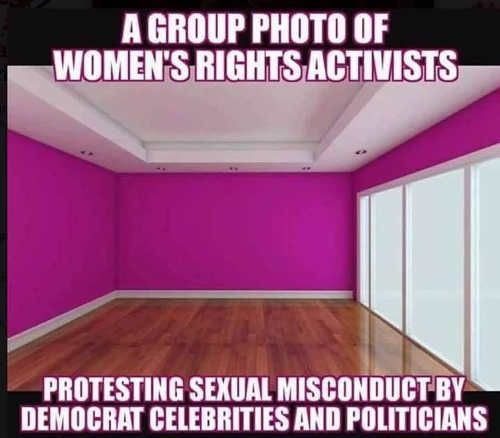 group-photo-of-womens-rights-activitists-protesting-sexual-misconduct-democrats-celebrities