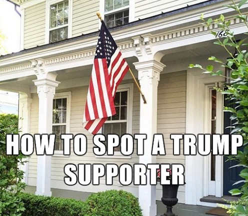 how-to-spot-trump-supporter-flying-american-flag-on-house