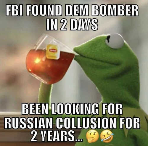 kermit-fbi-found-democrat-bomber-2-days-been-looking-for-russian-collusion-2-years