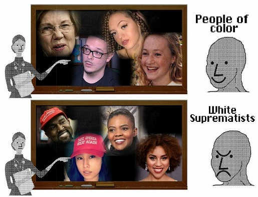 people-of-color-elizabeth-warren-white-supremacists-kanye-west-candace-owens
