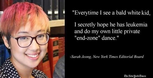 sarah-jeong-quote-everytime-see-bald-white-kid-hope-for-leukemie-do-dance-nyt-editorial-board