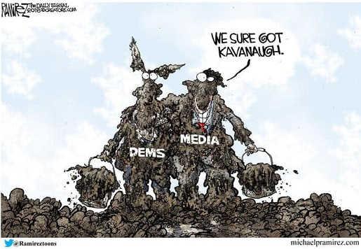 we-sure-got-kavanaugh-media-democrats-covered-in-mud