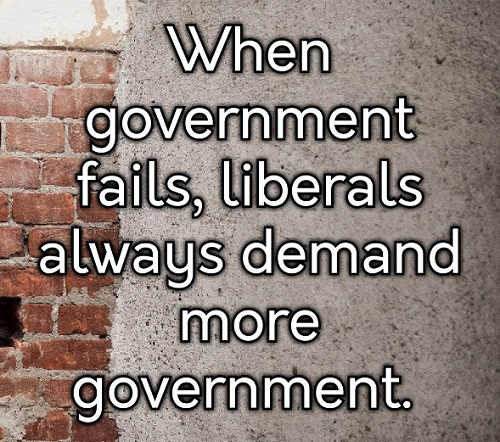 when-government-fails-liberals-always-demand-more-government