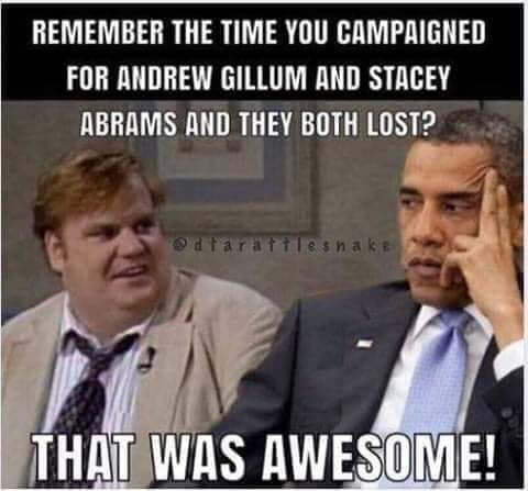 chris-farley-obama-remember-time-you-campaigned-abrams-gillium-they-both-lost-that-was-awesome