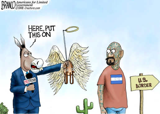 here-put-this-on-ms-13-immigrant-angel-halo-mainstream-media