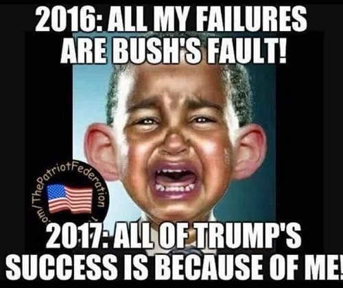 obama-baby-crying-all-my-failures-bush-fault-all-trump-successes-my-doing