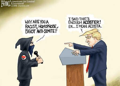 trump-why-are-you-racist-homophobe-bigot-anti-semite-enough-jim-acosta