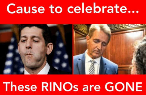 cause to celebrate paul ryan jeff flake are gone