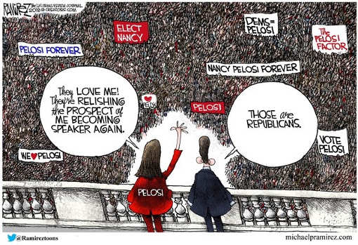 we love you nancy pelosi crowd those are republicans