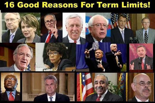 16 good reasons for term limits watters rangel graham durbin king mcconnell mccain