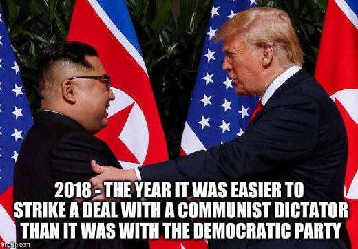 2018 the year it became easier to negotiate with north korea than democrats