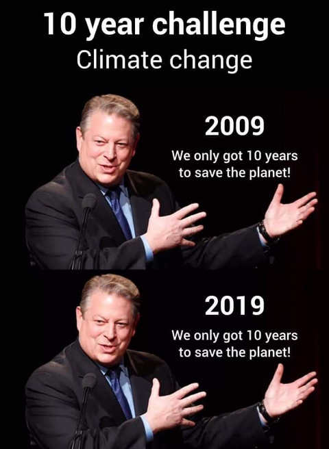 al gore 10 year climate change challenge world has only 10 years left