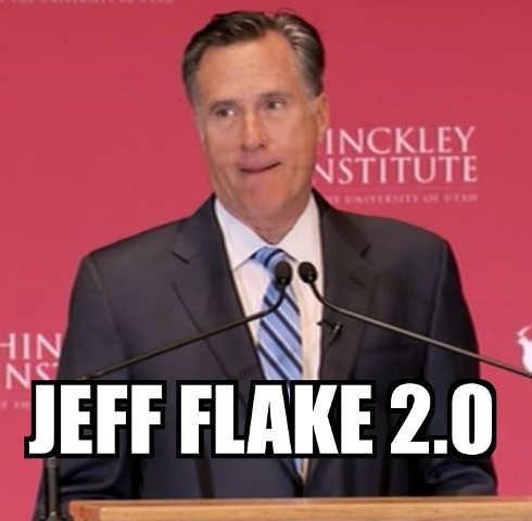 mitt romney jeff flake 2.0