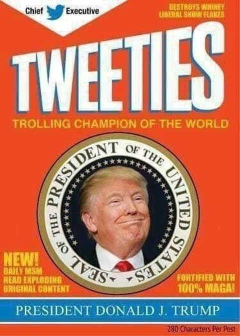 tweeties trump winning over liberal snowflakes