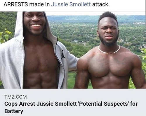 arrests made in jussie smollett attack tmz