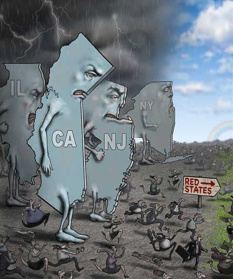 ca ny nj il residents fleeing for red states