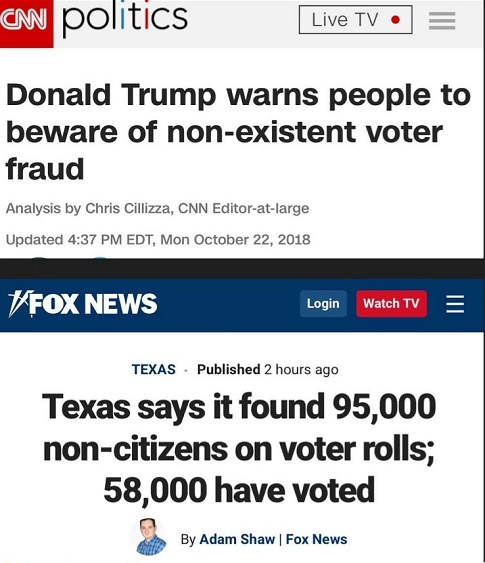 cnn nonexistend voter fraud confirmed