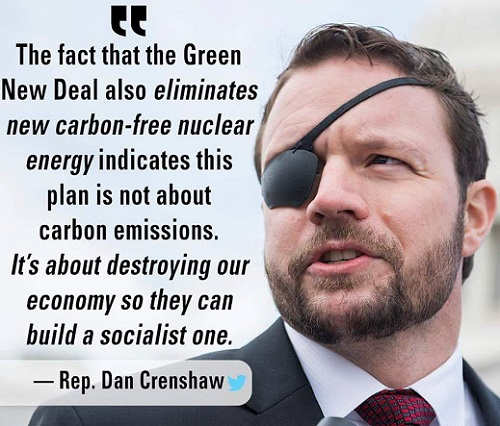 dan crenshaw fact green new deal eliminates nuclear energy says about destroying economy to build socialist one