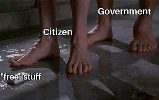 free stuff bar of soap citizen about to be screwed by government