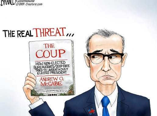 real threat andrew mccabe deep state coup