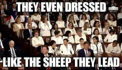 sotu white they even dressed like the sheep they lead