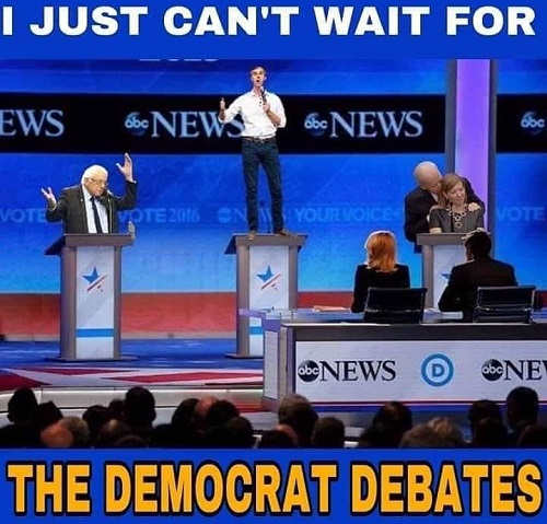 cant wait for democrat debates
