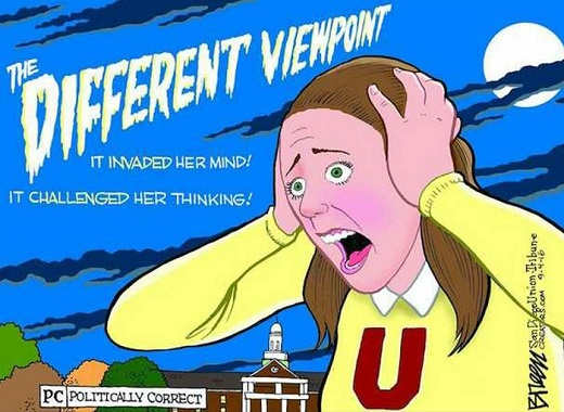 different viewpoint it invaded her mind challenged her thinking