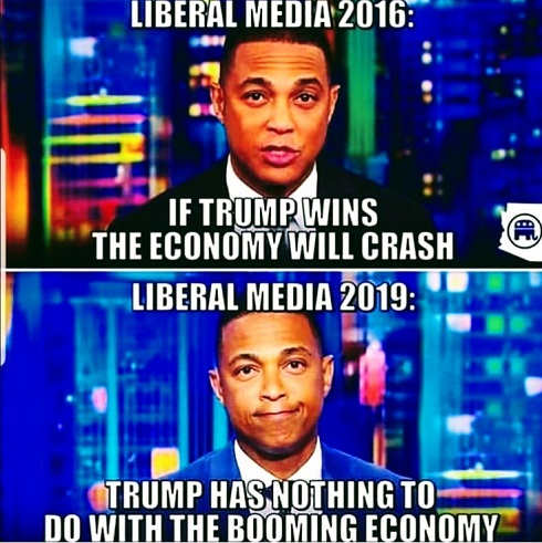 don lemon if trump wins economy will crash 2019 trump has nothing to do with booming economy