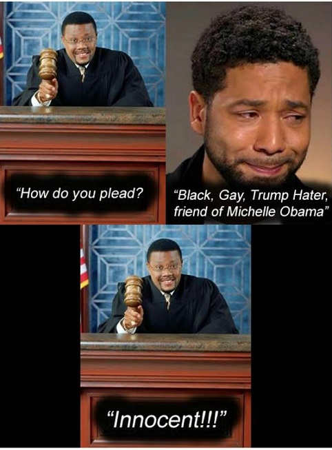 how to you plead black gay trump hater friend of obama innocent