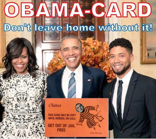 obama card get out of jail free card jussie smollett