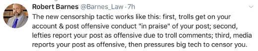 tweet new censorship technique trolls in comments
