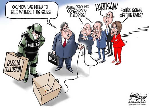 barr russian collusion democrats partisan conspiracy