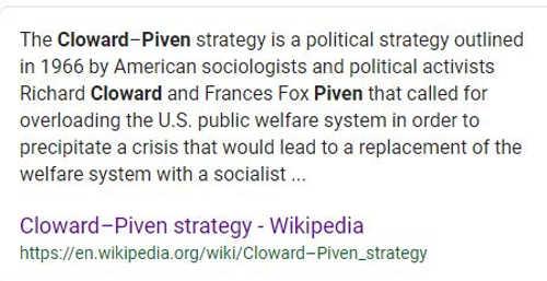 cloward piven strategy wikipedia