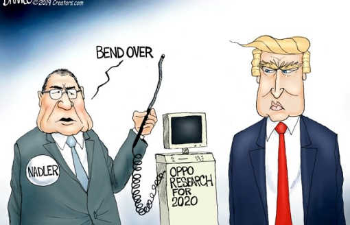 nadler bend over trump opposition research for 2020 probe