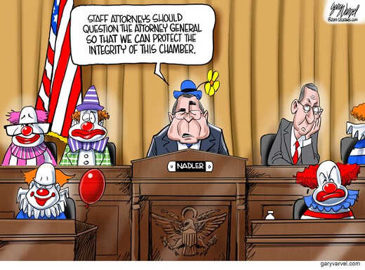 barr congress clowns should have attorney speak to save integrity