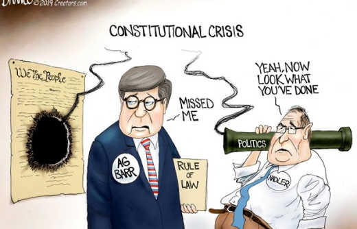 constitutional crisis nadler blows constitution shooting for barr enforcing rule of law