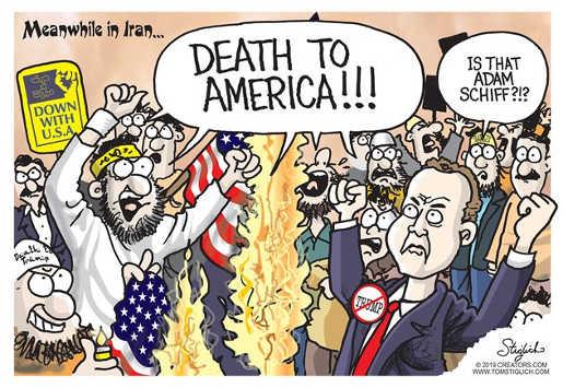 death to america terrorists adam schiff
