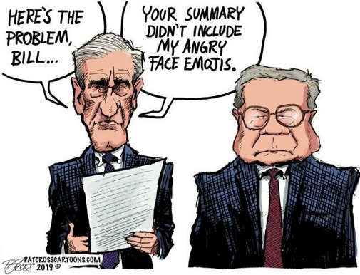 mueller found the problem barr summary doesnt include angry emojis