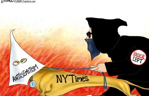 radical left new york times anti semitism