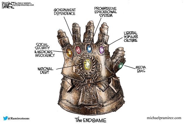 thanos infinity stones liberal culture education media